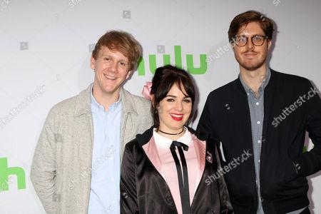 Josh Thomas, Emily Barclay, Thomas Ward