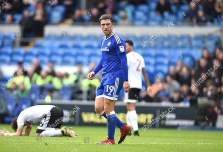 Rickie Lambert of Cardiff City.