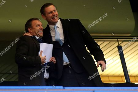 Peterborough United Owner, Darragh MacAnthony, was in a cheerful mood pre-match during Chelsea vs Peterborough United, Emirates FA Cup Football at Stamford Bridge on 8th January 2017