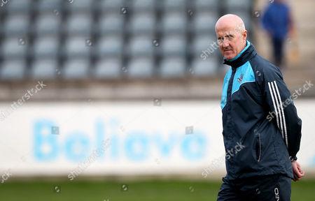 Dublin vs DCU. Dublin Manager Paul Clarke
