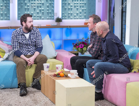 Nick Helm, Tim Lovejoy and Simon Rimmer