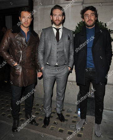 Editorial picture of Chester Barrie presentation, Arrivals, Autumn Winter 2017, London Fashion Week Men's, UK - 08 Jan 2017