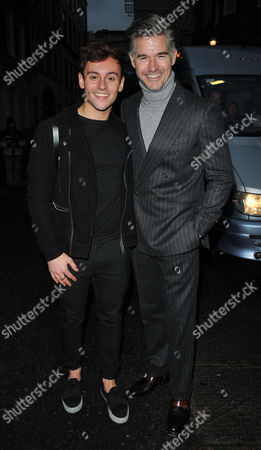 Tom Daley and Eric Rutherford