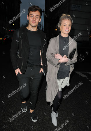 Stock Image of Tom Daley and guest