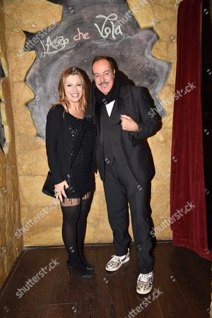 Massimo Lopez with Monica Ward