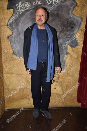 Editorial photo of Christian De Sica Birthday, Rome, Italy - 05 Jan 2017