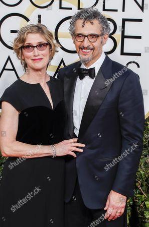 Katherine Borowitz and John Turturro