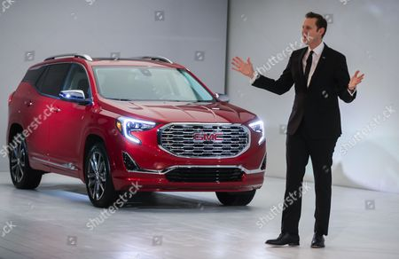 Editorial image of Detroit Auto Show, USA - 08 Jan 2017