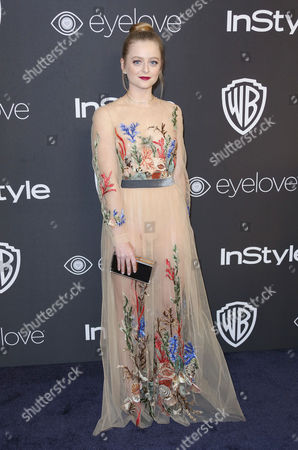 Editorial photo of  InStyle and Warner Bros Golden Globes After Party, Arrivals, Los Angeles, USA - 08 Jan 2017