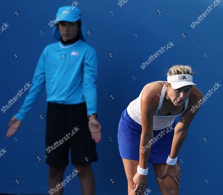 Jana Cepelova of Slovakia During Her 1st Round Match Agains Greta Arn of Hungary at the Australian Open Grand Slam Tennis Tournament in Melbourne Australia 15 January 2013 Australia Melbourne