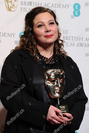 Film4 Chief and Channel 4 Controller Tessa Ross Winner of the Outstanding British Contribution to Cinema Award Poses in the Press Room During the Ee British Academy Film Awards in London Britain 10 February 2013 the Ceremony was Hosted by the British Academy of Film and Television Arts (bafta) United Kingdom London