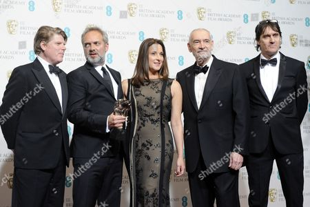 Editorial image of Britain Bafta Awards 2013 - Feb 2013