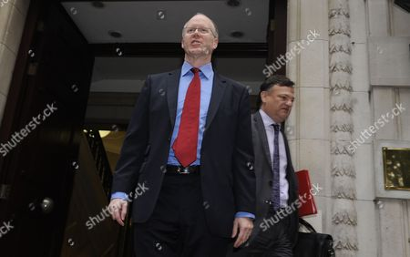 George Entwistle (c) the British Broadcasting Corporation (bbc) Director General Departs Four Milibank Studios in London Britain 23 October 2012 the Bbc Director General is to Face to Questions by the Mp Culture Media and Sport Select Committee About why a Newsnight Investigation Into Jimmy Savile was Never Broadcast Bbc's Policy Regarding Savile's Affaire Has Come Under Sharp Criticism Sir James Wilson Vincent Savile a Disc Jockey Television Presenter and Media Personality who Died on 29 October 2011 Has Emerged Now As a Predatory Paedophile United Kingdom London