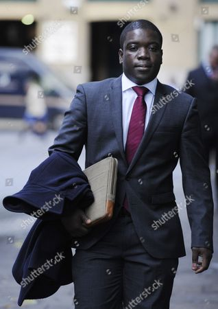 Kweku Adoboli Arrives at the Sothwark Crown Court where He Stands Trial on Charges of Fraud by Abuse of Position and False Accounting London Britain 3 October 2012 Adoboli is Accused of Undertaking Unauthorised Trading at Swiss Bank Ubs That Resulted in a $2bn Loss For the Bank One of the Biggest Ever Cases of Alleged Unauthorised Trading the Case Continues United Kingdom London