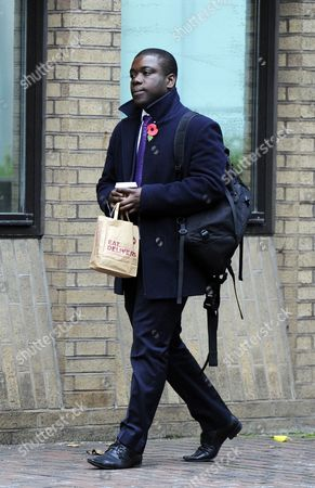 Kweku Adoboli Arrives at Southwark Crown Court to Stand Trial in London Britain 31 October 2012 Adoboli is on Trial Over a 2 3 Billion Us Dollar Trading Loss at Swiss Bank Ubs He is Accused of Fraud and False Accounting United Kingdom London