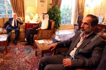 Editorial photo of Egypt Syria Arab League Meeting - Nov 2012
