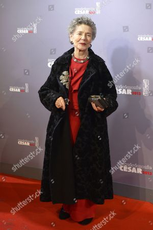 French Actress Emmanuelle Riva Arrives For the 38th Annual Cesar Awards Ceremony Held at the Chatelet Theatre in Paris France 22 February 2013 France Paris
