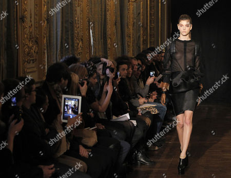 Editorial image of France Paris Fashion Week - Feb 2013