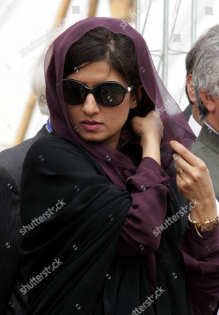 Stock Photo of Pakistani Foreign Minister Hina Rabbani Khar Attends the Inauguration Ceremony of a Gas Pipeline in the City of Chabahar South-western Sistan-beluchistan Province Iran 11 March 2013 the 1 600-kilometer Pipeline Would Enable Export of 21 5 Million Cubic Meters of Iranian Natural Gas Per Day to Pakistan at an Estimated Cost of 1 5 Billion Dollars Iran Has Already Constructed More Than 900 Kilometers of the Pipeline on Its Soil and is Also Prepared to Take Care of the Remaining Part Inside Pakistan Epa/abedin Taherkenareh Iran (islamic Republic Of) Chahbahar
