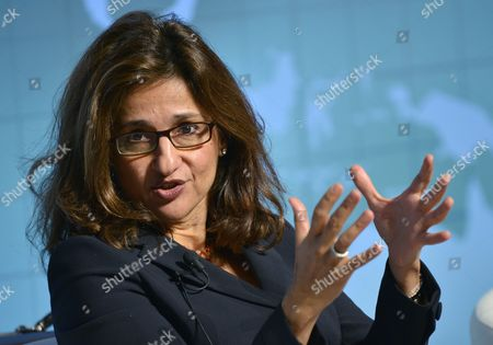 Nemat Shafik Imf of Deputy Managing Director Speaks at a Seminar on 'Restoring Public Debt Sustainability in a High-risk Environment' During the International Monetary Fund (imf) and the World Bank Annual Meetings in Tokyo Japan 10 October 2012 Japan Tokyo