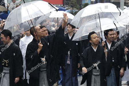 Editorial picture of Japan Kabuki Theatre - Mar 2013