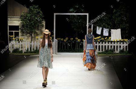 Editorial photo of Japan Tokyo Fashion Week - Oct 2012