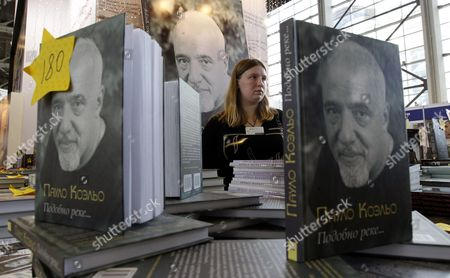Copies of Books by Brazilian Writer Paulo Coelho Are on Display at a Booth During the Moscow International Book Fair at the Russian Exhibition Center in Moscow Russia 05 September 2011 the Book Fair Runs From 05 to 10 September Russian Federation Moscow