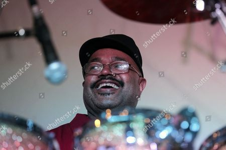 Us Drummer Dennis Chambers Member of the Band 'Graffiti' Performs at the Igor Butman Jazz Club Moscow Russia Late 26 September 2012 Russian Federation Moscow