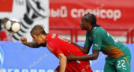 Editorial image of Russia Soccer Friendly - Aug 2012