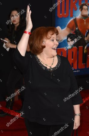 Us Actress Edie Mcclurg Arrives For the Wreck-it Ralph Premiere at the El Capitan Theatre in Hollywood California Usa 29 October 2012 United States Hollywood