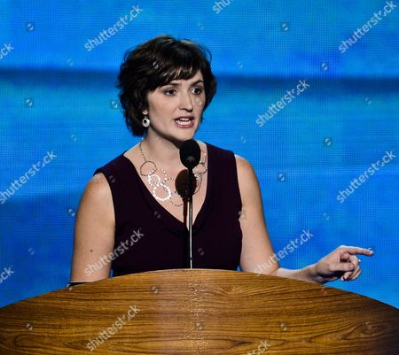 Women's Rights Advocate Sandra Fluke Speaks at the Democratic National Convention in Charlotte North Carolina Usa 05 September 2012 President Barack Obama Will Be Nominated to Run For a Second Term at the Convention United States Charlotte