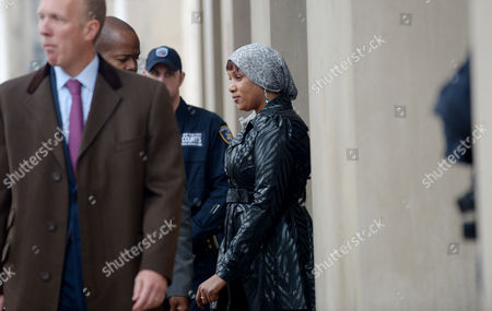 Nafissatou Diallo (c) the Woman who Has Sued Dominique Strauss-kahn For Sexual Assault Leaves Bronx Supreme Court with Her Lawyers Following a Hearing with a Judge in Which the Two Sides in the Case Agreed to a Confidential Settlement in the Bronx New York Usa 10 December 2012 Strauss-kahn Allegedly Forced Himself on Diallo After She Went to Clean His Hotel Room in New York in May 2011 United States Bronx