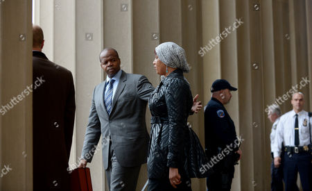 Editorial picture of Usa Dsk Accuser Arrives For Court Hearing - Dec 2012