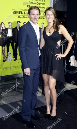 Us Actor James Hebert (l) and Abigail Carpenter (r) Arrive For the Premiere of 'Seven Psychopaths' in Los Angeles California Usa 01 October 2012 the Movie Opens in Us Cinemas on 12 October United States Los Angeles
