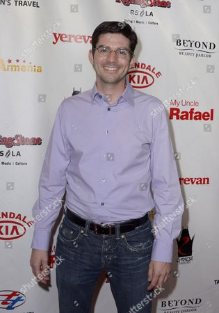 Stock Image of Us Composer Chris Westlake Arrives For the Premiere of 'My Uncle Rafael' in Hollywood California Usa 19 September 2012 United States Hollywood