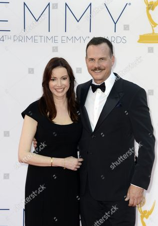 Us Actor Bill Paxton (r) and Louise Newbury (l) Arrive For the 64th Primetime Emmy Awards Held at the Nokia Theatre in Los Angeles California Usa 23 September 2012 the Primetime Emmy Awards Celebrate Excellence in National Primetime Television Programming United States Los Angeles