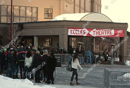 Movie Goers Wait in Line to See the Film 'May in the Summer' Directed by Cherien Dabis That Opened the 2013 Sundance Film Festival in Park City Utah Usa 17 January 2013 the Festival Runs Through 27 January 2013 United States Park City