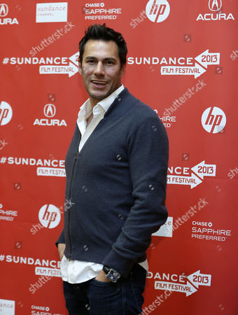 Stock Image of Us Producer Craig Flores Arrives For the Premiere of 'The Necessary Death of Charlie Countryman' During the 2013 Sundance Film Festival in Park City Utah Usa 21 January 2013 the Festival Runs From 17 to 27 January 2013 United States Park City