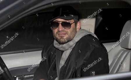 Fadi Fawaz arrives back at his his north London home