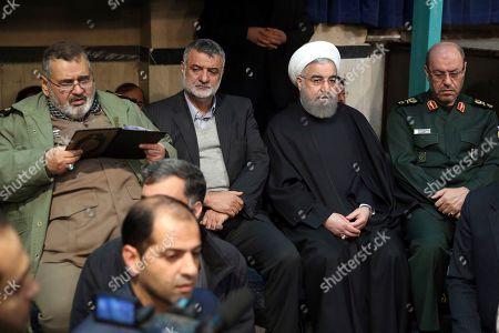 Editorial image of Rafsanjani, Tehran, Iran - 09 Jan 2017