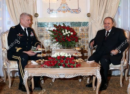 Editorial picture of Algeria Us Africom Commander Visit - Sep 2012
