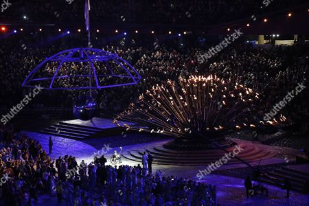 Editorial photo of Britain London 2012 Paralympic Games - Aug 2012
