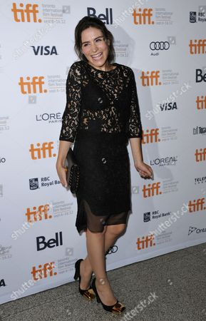 Turkish Actor and Cast Member Belcim Bilgin Attends the Premiere Showing of the Film 'Rhino Season' During the 37th Annual Toronto International Film Festival in Toronto Canada 12 September 2012 the Festival Runs Until 16 September 2012 Canada Toronto