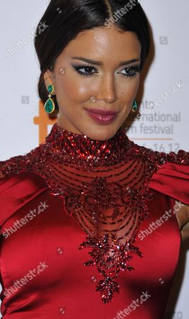 Indian-born Canadian Actor Sahar Biniaz Arrives As a Guest at the Premiere Showing of the Film 'Rhino Season' During the 37th Annual Toronto International Film Festival in Toronto Canada 12 September 2012 Biniaz the Current Miss Universe Canada was Raised in Iran and was a Guest of Iranian Film Director Bahman Ghobani (not Shown) Canada Toronto