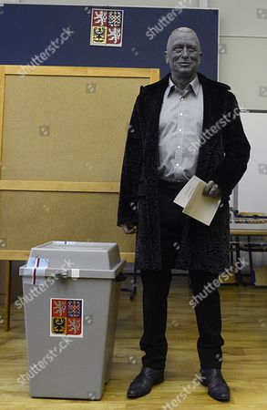 Editorial image of Czech Republic Presidential Elections - Jan 2013