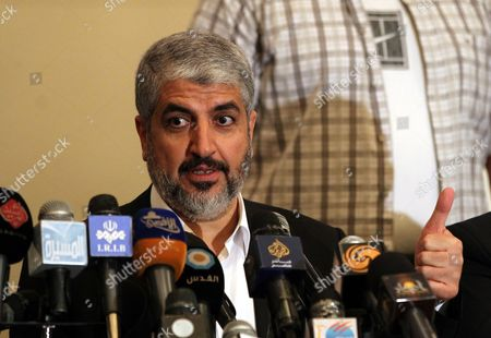 Editorial photo of Egypt Hamas Meshaal Visit - Apr 2013