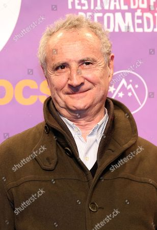 French Actor Daniel Prevost Attends the 16th Annual International Comedy Film Festival in L'alpe D'huez France 18 January 2013 the Festival Runs From 16 to 20 January France Alpe D'huez
