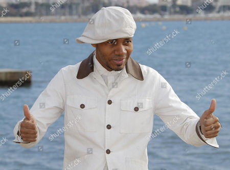 Us Musician Dj Spooky Poses During a Photocall at the 47th Midem in Cannes France 27 January 2013 the International Record Music Publishing and Video Music Market Takes Place From 26 to 29 January France Cannes
