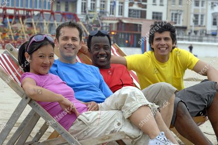 Pui Fan Lee, Chris Jarvis, Sid Sloane and Andy Day.