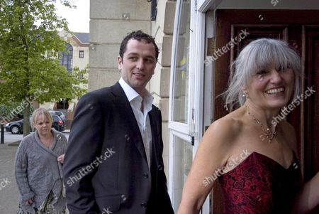 Matthew Rhys with screenwriter Sharman MacDonald.